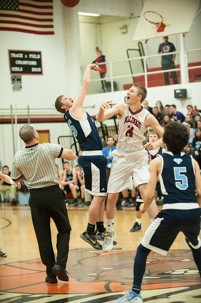Feb 4 2016 Boys BB Hall-Dale vs Dirigo