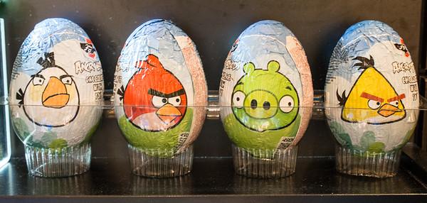 Angry Birds Kinder Eggs