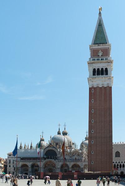 Campanile and Basilica di San Marco