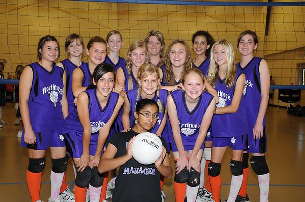 2008 8th Grade Volleyball