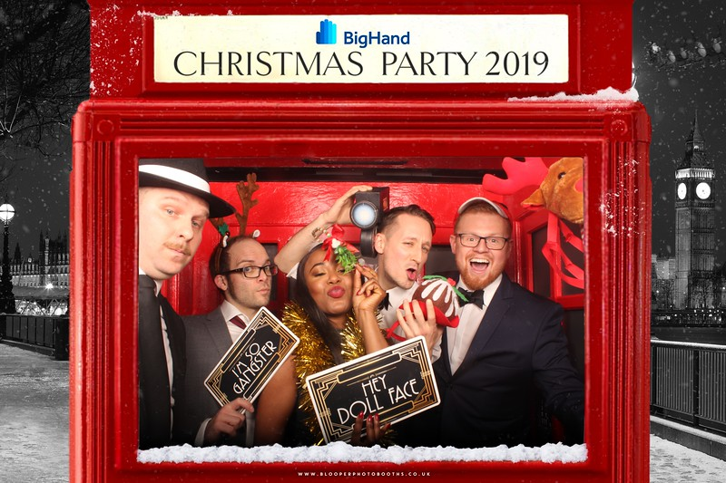 Big Hand Christmas Party 2019