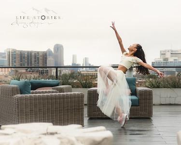 Kris + Helena's Dance Portraits