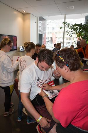 Dirk Kuyt Foundation Mini Marathon Rotterdam (09-04-2016)