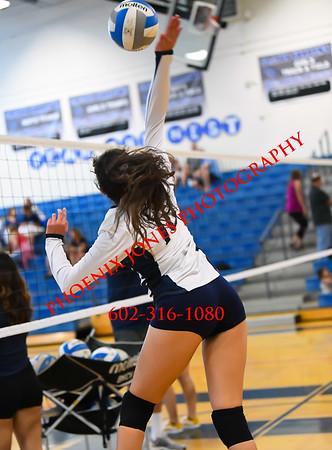 9-18-19 - Cactus Shadows v Kellis - Volleyball