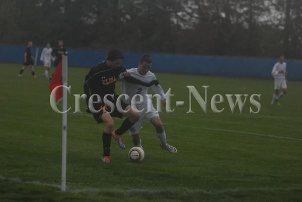 10-21-13 Sports Elida @ Defiance Boys Soccer
