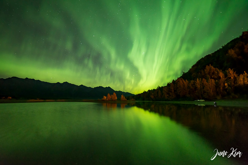Northern Lights in Autumn