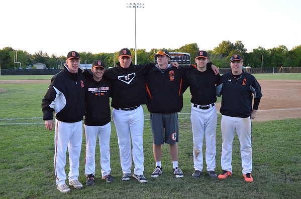 GC Baseball end of season Family and Seniors