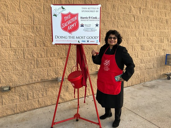 Salvation Army Red Kettle Campaign 2018