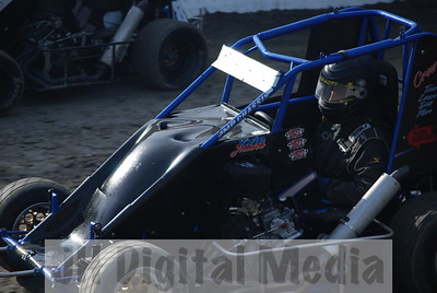 Deming Speedway - July 4th, 2009 - Wingless Night
