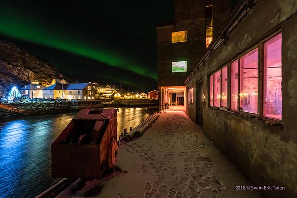 Creative Lighting project in Nyksund