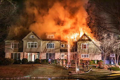 Good Hill Rd. Fire (Weston, CT) 2/10/19