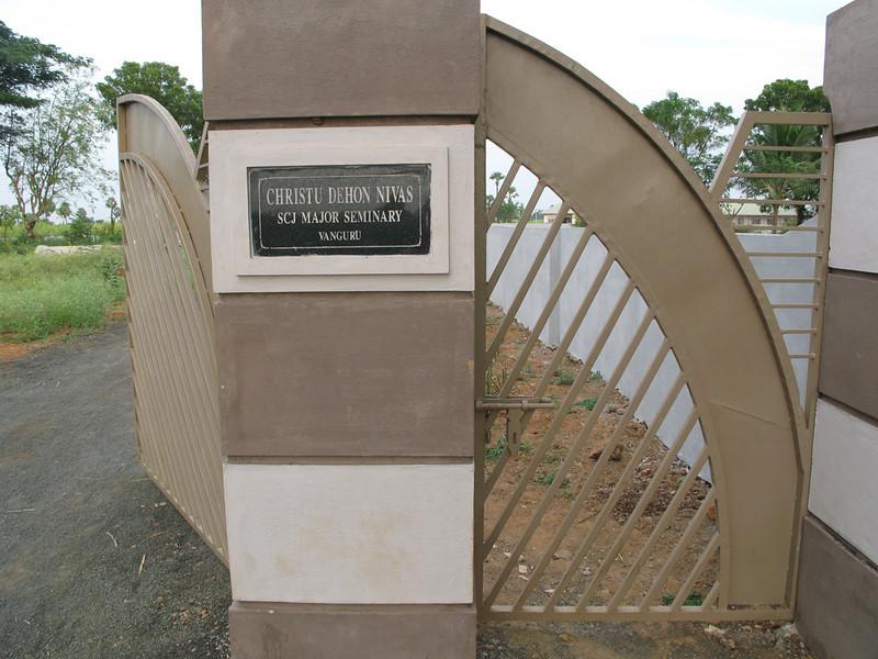Christu Dehon Nivas is localed in area called Vanguru.