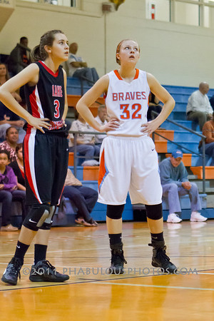Lake Highland @ Boone Girls Varsity Basketball - 2011