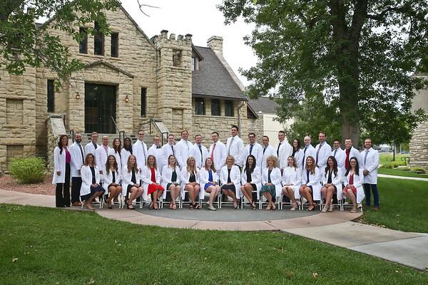 2019 MPAS White Coat Ceremony Graduates