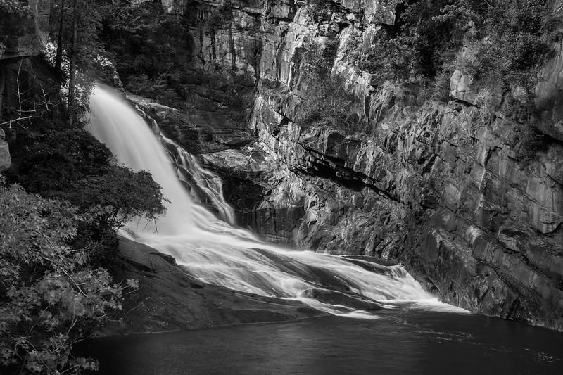 Hurricane Falls in Tallulah Gorge