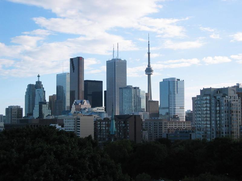 Toronto Skyline in the Late Summer