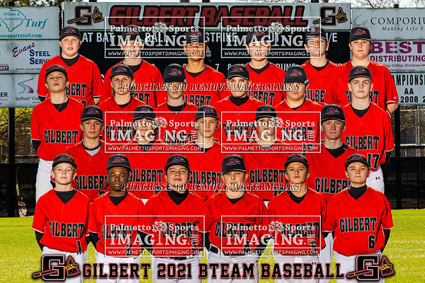 20201 Gilbert B-Team Baseball Team and Individuals
