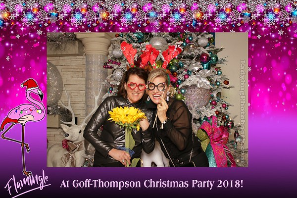 Flamingle at Goff-Thompson Christmas Party 2018