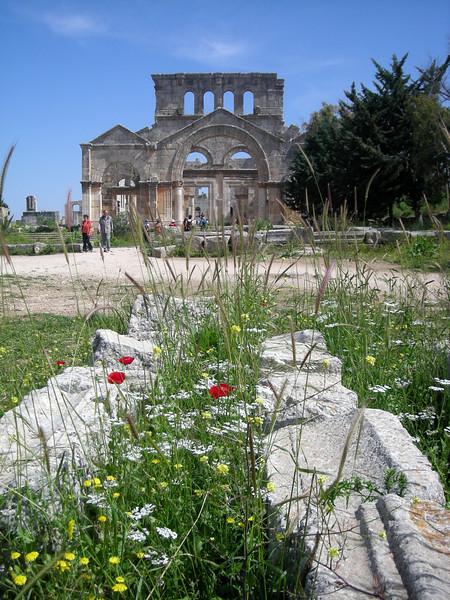sanctuary of St. Simeon, 5th century AD, Syria