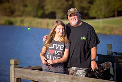 Fishing with Bailee Iorg at The Swamp Whitetails