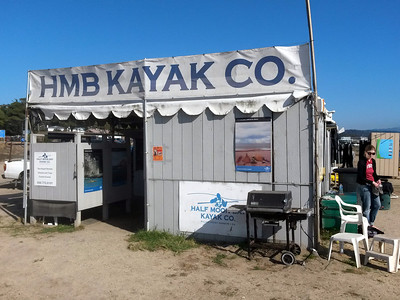 Sea Kayaking in Half Moon Bay (Oct. 19 2013)