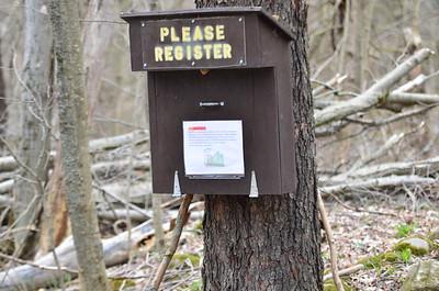 Inman Glide trail Hike 4-29-20