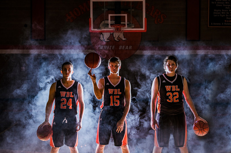 Boys Basketball Portraits 2017