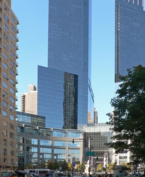 Time Warner Center vid Columbus Circle