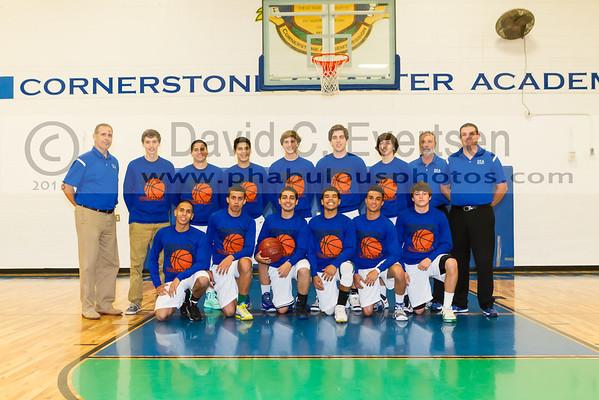 CFCA @ Cornerstone Charter Academy Ducks Boys Varsity Basketball - 2013