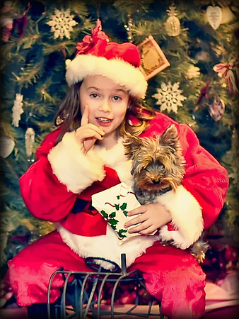 Christmas Children Photography by Mariana Roberts