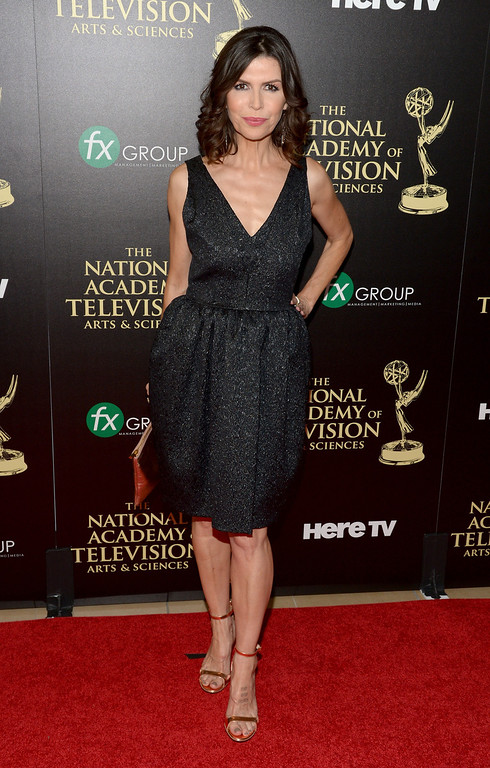 . Actress Finola Hughes attends The 41st Annual Daytime Emmy Awards at The Beverly Hilton Hotel on June 22, 2014 in Beverly Hills, California.  (Photo by Jason Kempin/Getty Images)