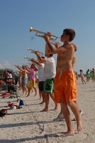 2007-10-12 Beach Practice at St. Petersburg
