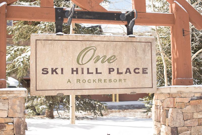 One Ski Hill Intimate Wedding
