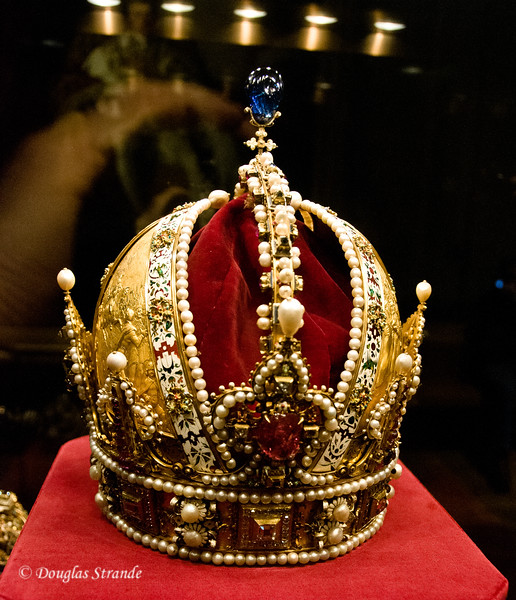 Jeweled gold crown of the Habsburg Empire