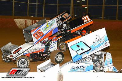 Lincoln Speedway - 4/15/17 - Chad Updegraff