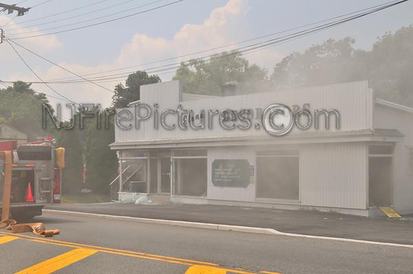 NETCONG, NJ WORKING FIRE 134 ROUTE 46 JULY 16, 2009