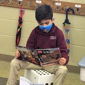 Second Grade // Building Reading Stamina