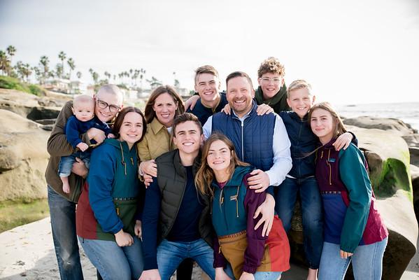 La Jolla San Diego Beach Family Portrait Photographer 92037