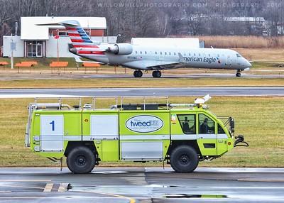 Crash Truck - Tweed New Haven Airport, New Haven, CT - 12/22/28