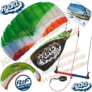 HQ Hydra-II 350 Water Trainer Kite Foil Power Kitesurfing Kiteboarding