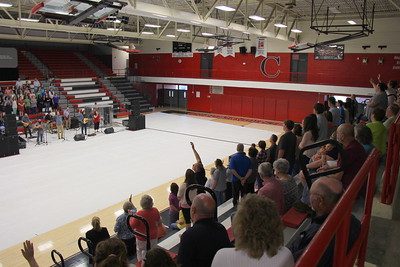 2015,  Prayer and Praise Rally,  Cherokee High, Rogersville