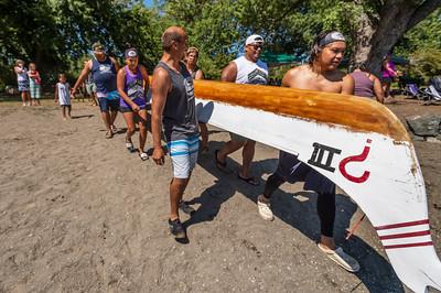 Nooksack War Canoe Race 2021 at Bloedel Donovon Park