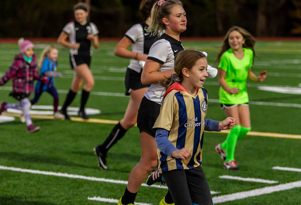 Player Intros, Set one: Vashon Island High School Girls Varsity Soccer v Annie Wright 10/30/2019