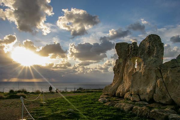 Pre-historic temples in Malta