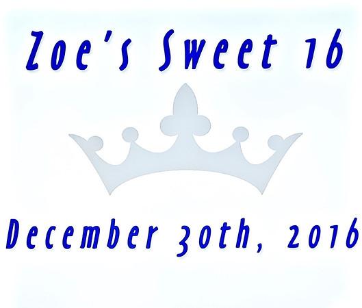 Zoe Sweet 16