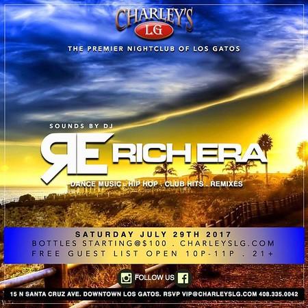 2017-07-29 Saturdays with DJ Rich Era