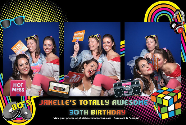 Janelle's Totally Awesome Birthday