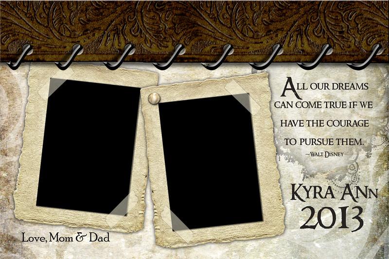Kyra Ann - Half Page Template