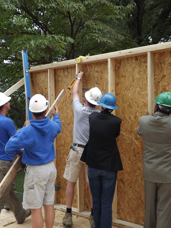 Hazelwood Wall Raising