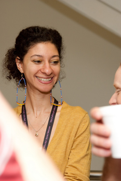 Chanda Prescod-Weinstein -- March 2011 new staff welcome coffee, Astrophysics Science Division, NASA/ Goddard Space Flight Center